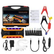 Car Charger Battery Jump Starter 4USB LED Light Auto Emergency Mobile Power Bank 600A 89800mAh Multifunction Car Jump Starter стоимость