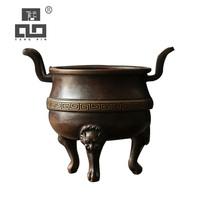 TANGPIN copper incense coil holders handmade incense holder burner copper incense holder base