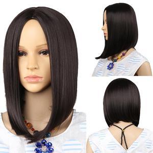 Image 5 - Amir perruque Bob synthétique courte ondulée, postiche Blonde, perruque ondulée à couleur naturelle pour femmes