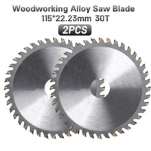 4.5inch/115mm 30Teeth Carbide Circular Saw Blade Disc Cutter For Cutting Wood Woodworking Renovator Tools 22.23mm Hole Diameter