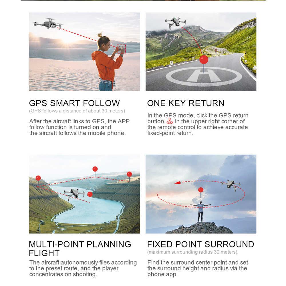 الطائرة بدون طيار لتحديد المواقع HD 4k كاميرا 1080P 5G واي فاي فرش السيارات التحكم عن بعد 1000 متر رحلة 25 دقيقة ESC كاميرا طائرة دون طيار