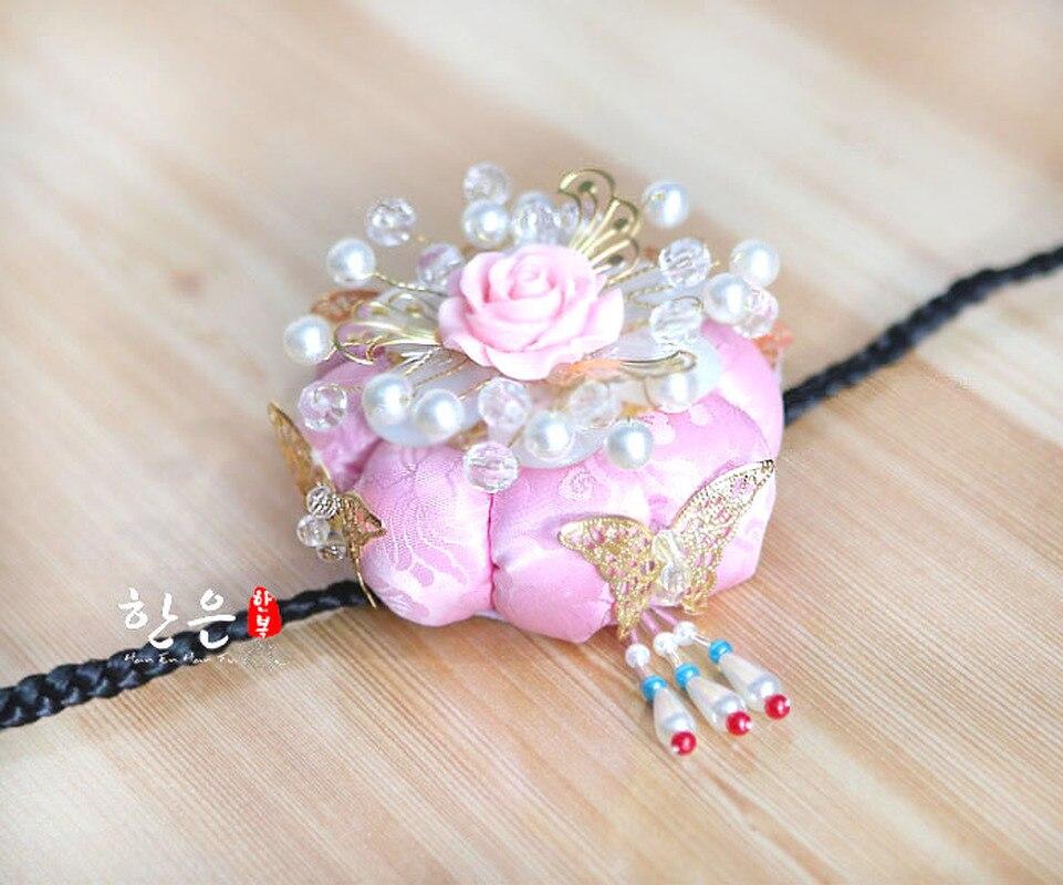 Corée du sud importé corde à cheveux antique Axi cheveux accessoires scène diadème dernière/coiffure de mariée
