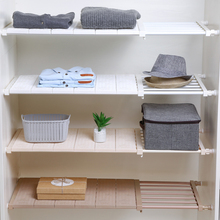Wardrobe Shelves Cabinet-Shelf Closet-Organizer Clothes-Shoe-Rack Adjustable Kitchen Bathroom