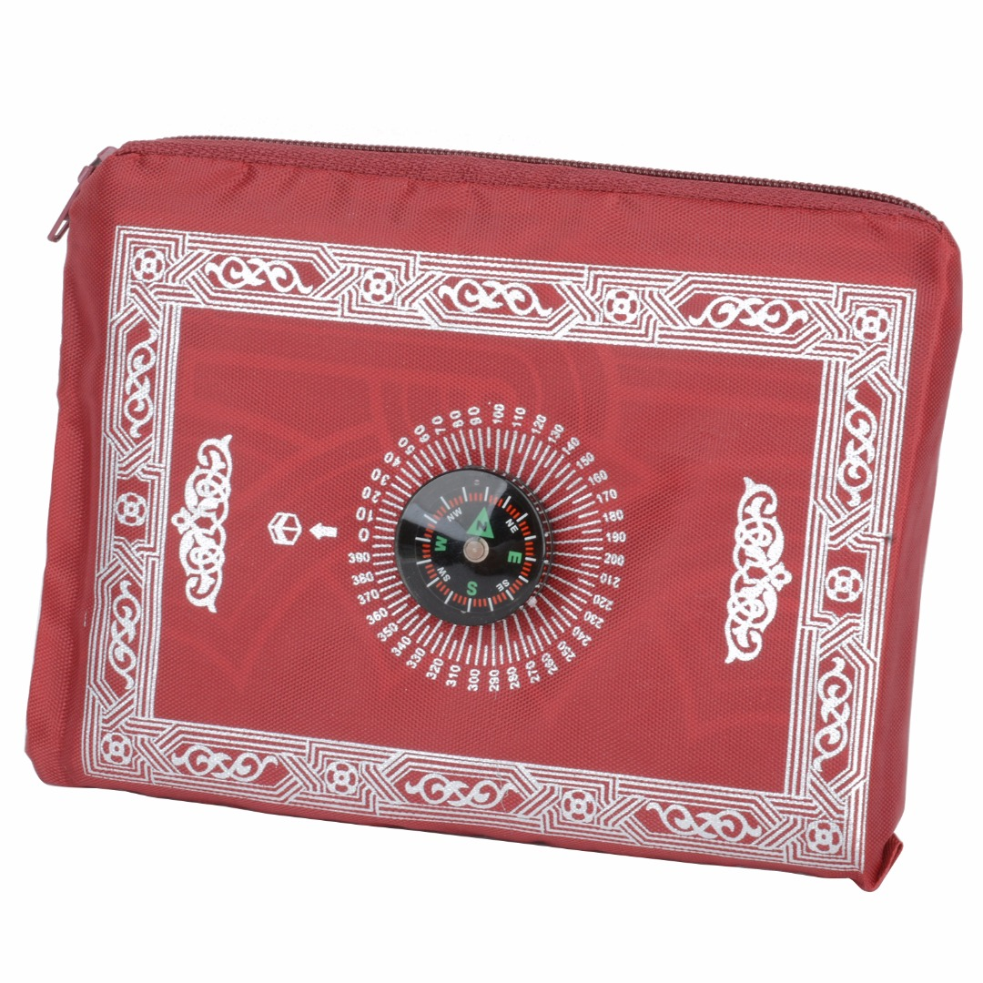 Image 5 - Portable Prayer Rug Waterproof Pocket Muslim Prayer Rug Mat Blanket with Pouch Oxford Fabric100*60cmMat