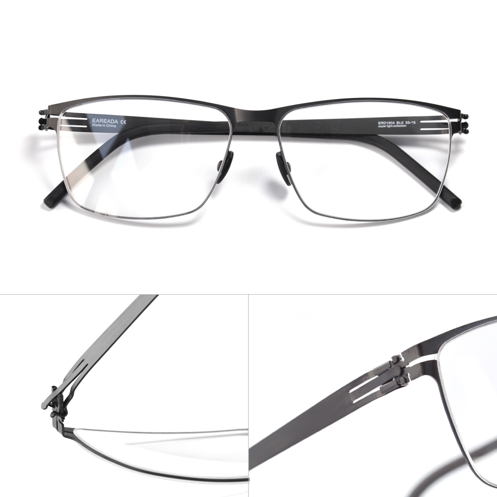 Screwless Eyewear Frame Super Light Super Thin Comfortable Business Style Full Rim Germany Berlin Design