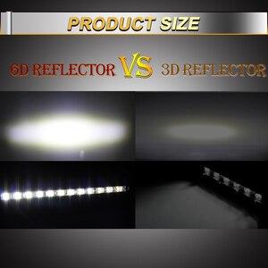 Image 3 - CO LIGHT Super Bright LED Light Bar 6D 8 50inch Offroad Combo Led Bar for Lada Truck 4x4 SUV ATV Niva 12V 24V Auto Driving Light