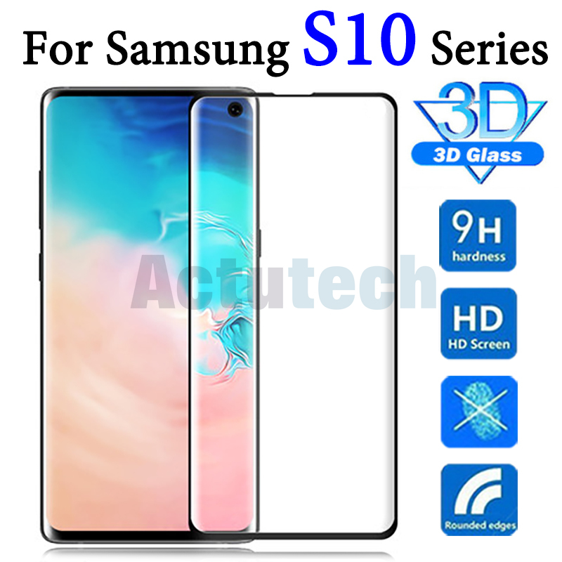 Защитное стекло для samsung galaxy s10 plus, защита экрана e 10e lite s 10 light s10e, закаленная пленка, лист для камеры 10s s10plus