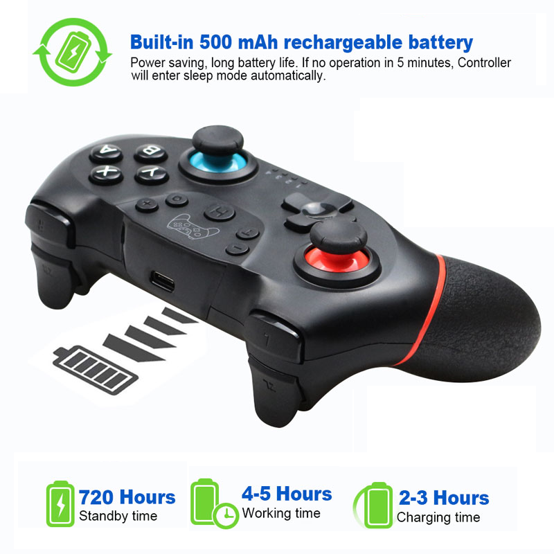 Gamepad Wireless Bluetooth For Nintend Switch Pro NS-Switch Pro For Switch Console with 6-Axis Handle Game joystick Controller