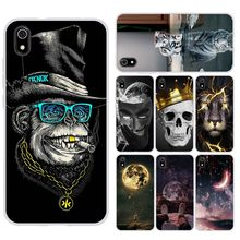 Case For Xiaomi Redmi 7a Cases Full Protection Soft TPU Back Cover On Redmi 7 A Bumper Fundas Hongmi 7a Phone Shell Bags Coques(China)