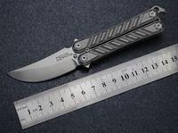 Titanium Alloy M390 Folding Knife EDC Accessories