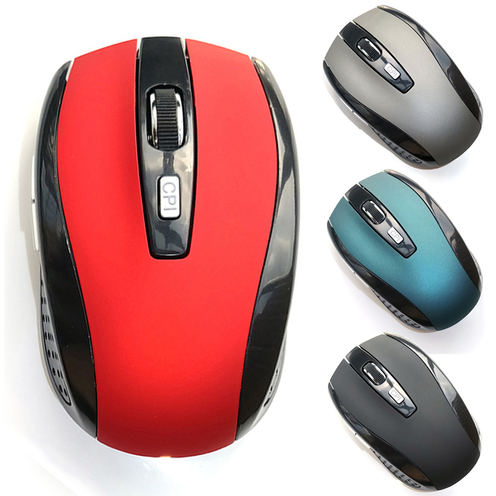 Hot Selling 2.4Ghz Wireless Game Mouse 2000 DPI Optical PC Mause With USB Receiver Mice for PC Laptop 4