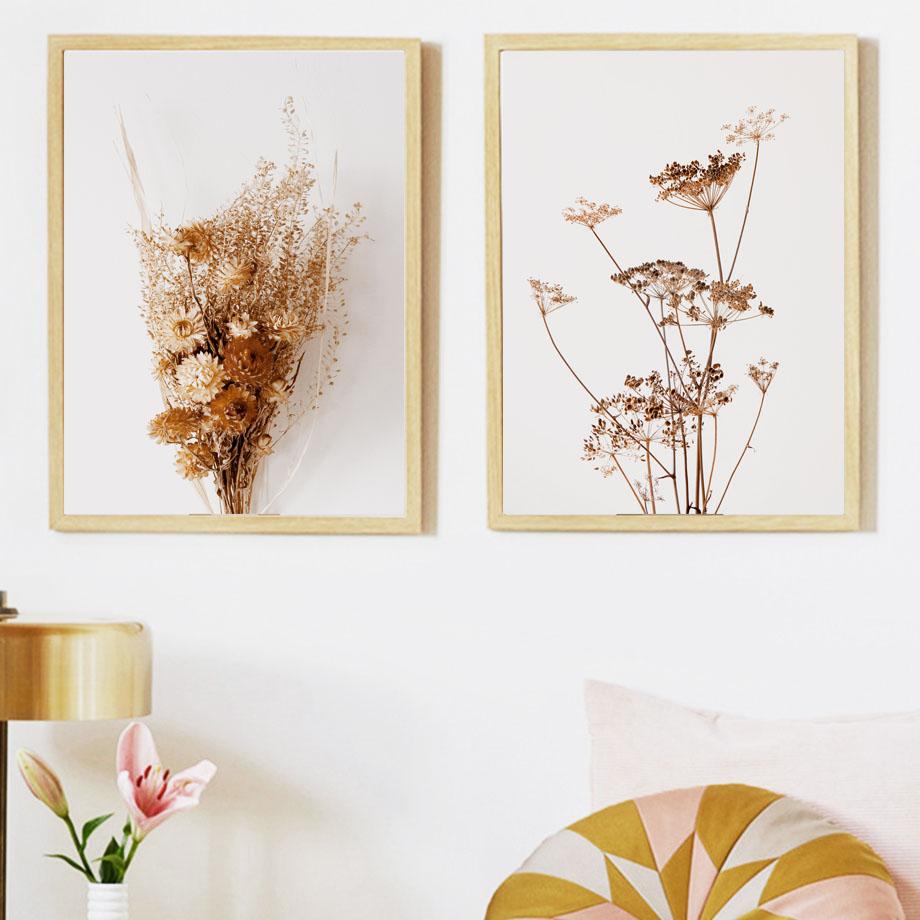 Горный цветок лист багги для езды по художественная стена с