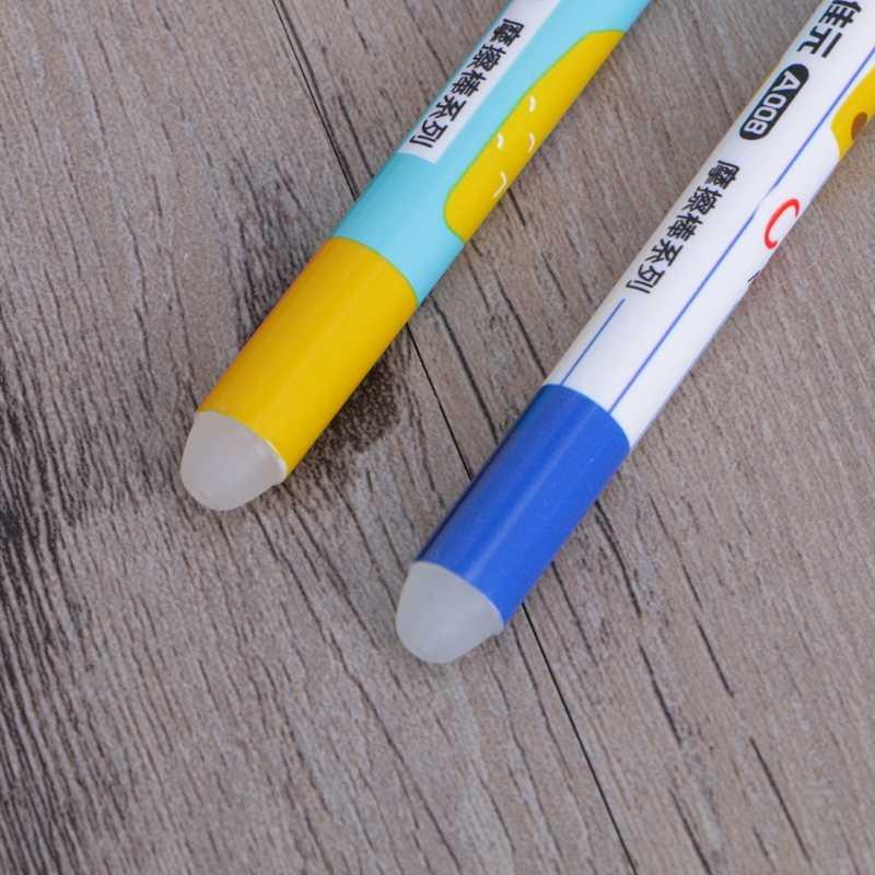 Tinta de Gel para Borrador de pluma de fricción removedor de tinta de goma especial limpiador eficaz H7EC