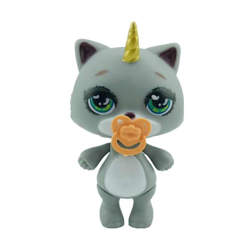 Lanyitoys 6 Styles 4 Inch Poopsie Surprise Union Spit Slime Squish Lost Kitties Squishy Slime Squishies Toy For Girls Gifts