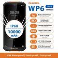 Прочный водонепроницаемый Смартфон OUKITEL WP6 Ip68 Восьмиядерный 6 ГБ 128 Гб телефон 9 В/2 а аккумулятор 10000 мАч Тройная камера 48 МП