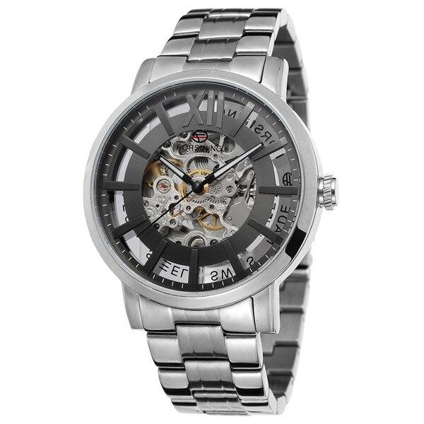 Forsining Nieuwe Mode Mannen Mechanische Automatische Horloge Jurk Horloges Voor mannen Gift Klok Mannelijke Reloj Hombre Relogio Masculino - 3