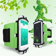 Sports Running Jogging Wrist Band Bag Case Holder 180 Degree Rotatable For Mobile Phone SP99 20010 thick shockproof eva back case w 180 degree rotatable handle holder for ipad 4 green