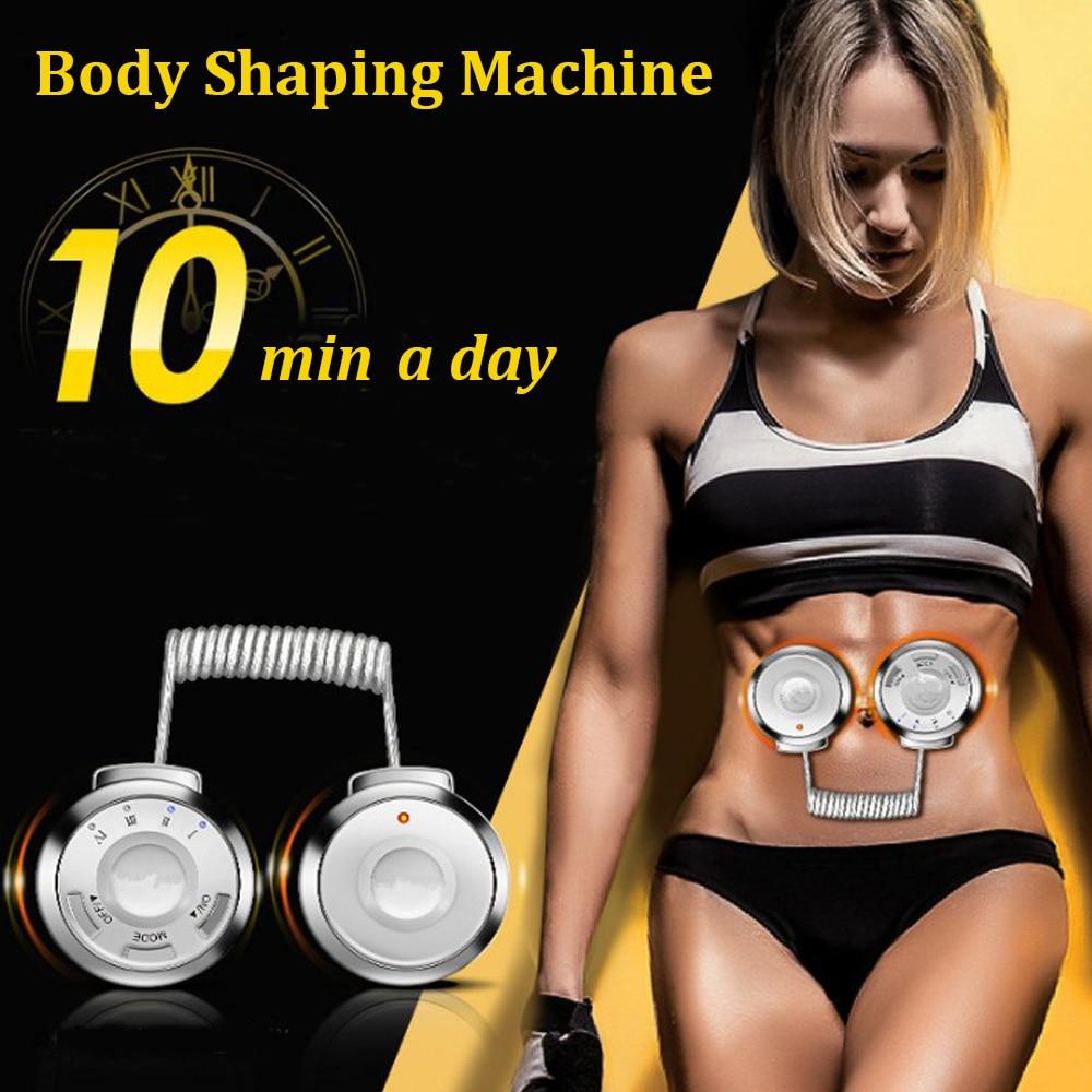 Muscle Stimulator Trainer Sports Vibration Fitness Stimulator Belly Leg Arm Exerciser Fat Burning Trainer Body Slimming Massager