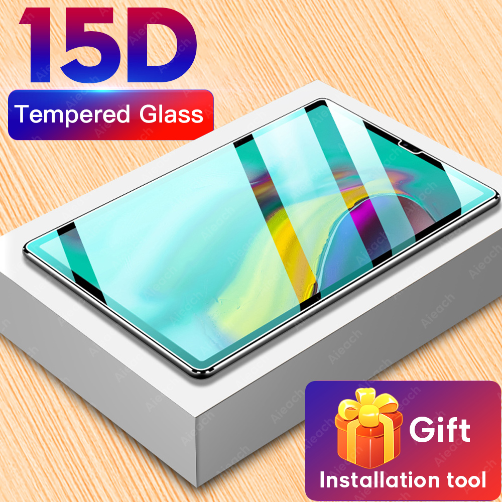 15D Protective Tempered Glass For Samsung Galaxy Tab S5e S6 Lite S7 Screen Protector For Galaxy Tab S4 S3 S2 E 9.6 Glass Film-0