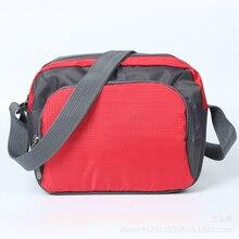 Satchel Bag Waterproof Shoulder Bag Fashion Travel Sports Ad Pack Men's And Women's Cross-body Gift Shoulder Bag Wholesale