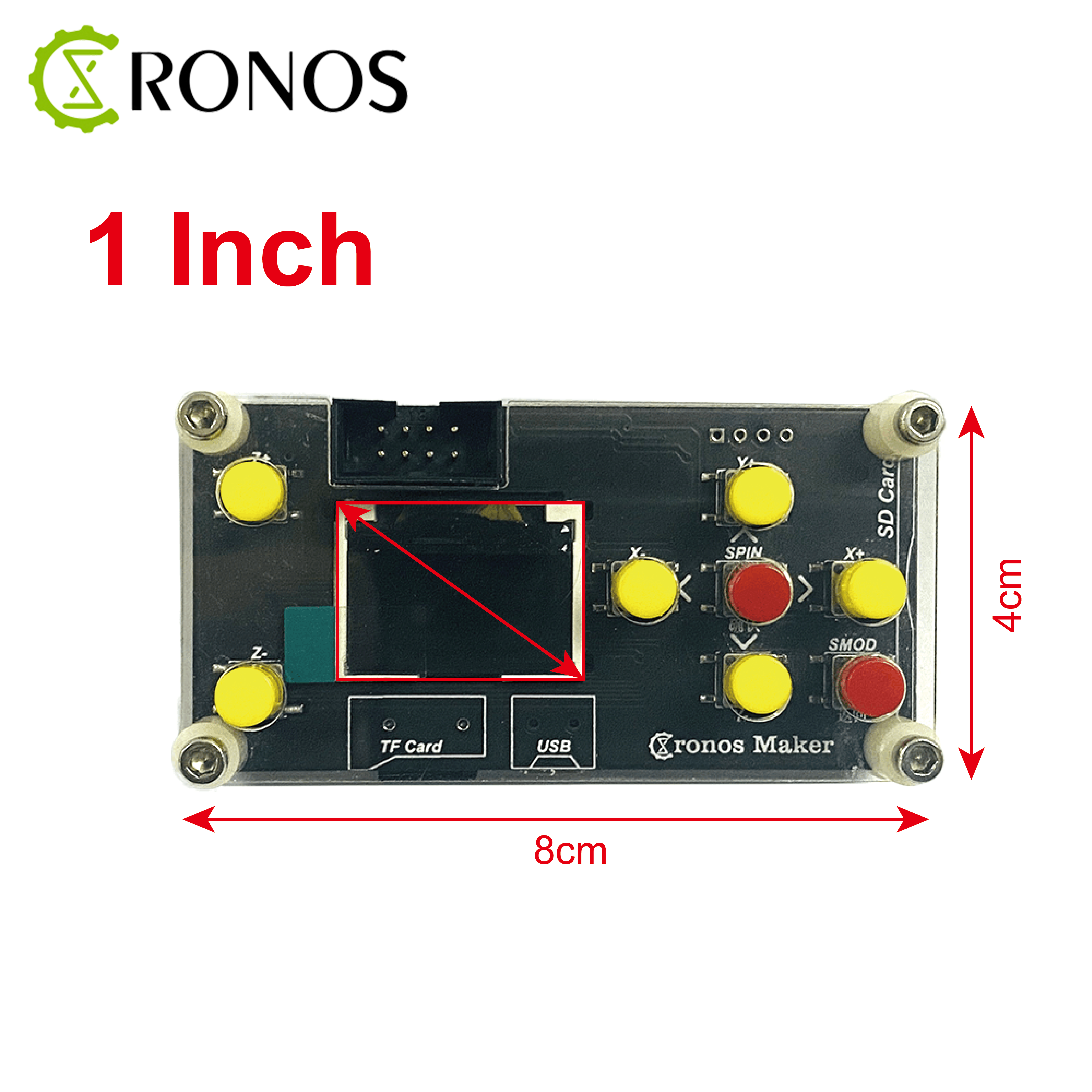 GRBL Offline Desktop 1 inch/1.8 inch CNC Controller Board 3 Axis For 1610/2418/3018 PRO Engraving Machine Carving Milling