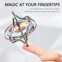 Gyroscope en métal fait main contre-gravité avancé jouet Balance décompression artefact Stress cadeaux 2ml