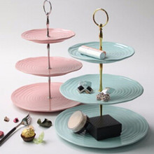 Brand New 3 Tier Cake Fruit Plate Stand Handle Fitting Cake Plate Stand Hardware Rod Plate Stand Cake Decorating Tools
