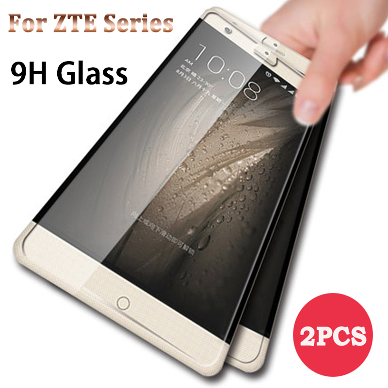 2 pieces 9H Screen Protector Glass for Nubia Z18 Mini Z11 Mini S HD Glass Protective Glass Film for ZTE Nubia Z17 Lite Clear(China)