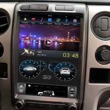 """Автомагнитола с 13 """"экраном tesla android dvd gps радио"""