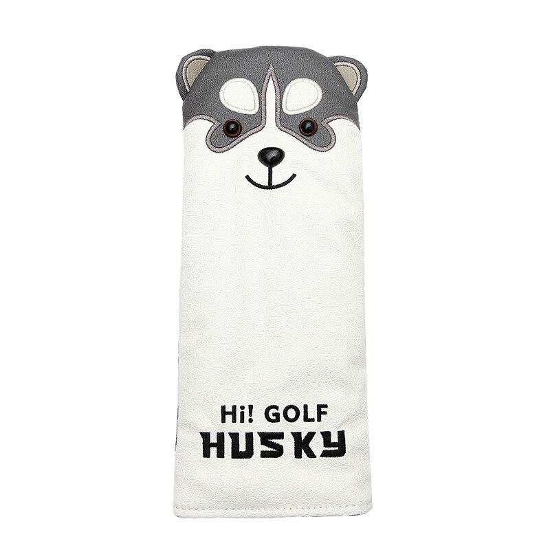 Lovely Husky Golf Driver Head Cover