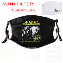 Alcatrazz-masque pas de discours de Rock 'n Roll/Live, 84 (s-xxl) pour femmes et hommes