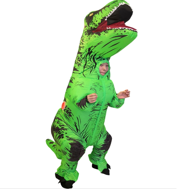 Inflatable Clothing Children Dinosaur Costume Dress Mascot Role Playing Clothing Men And Women Cartoon in Replacement Parts Accessories from Consumer Electronics