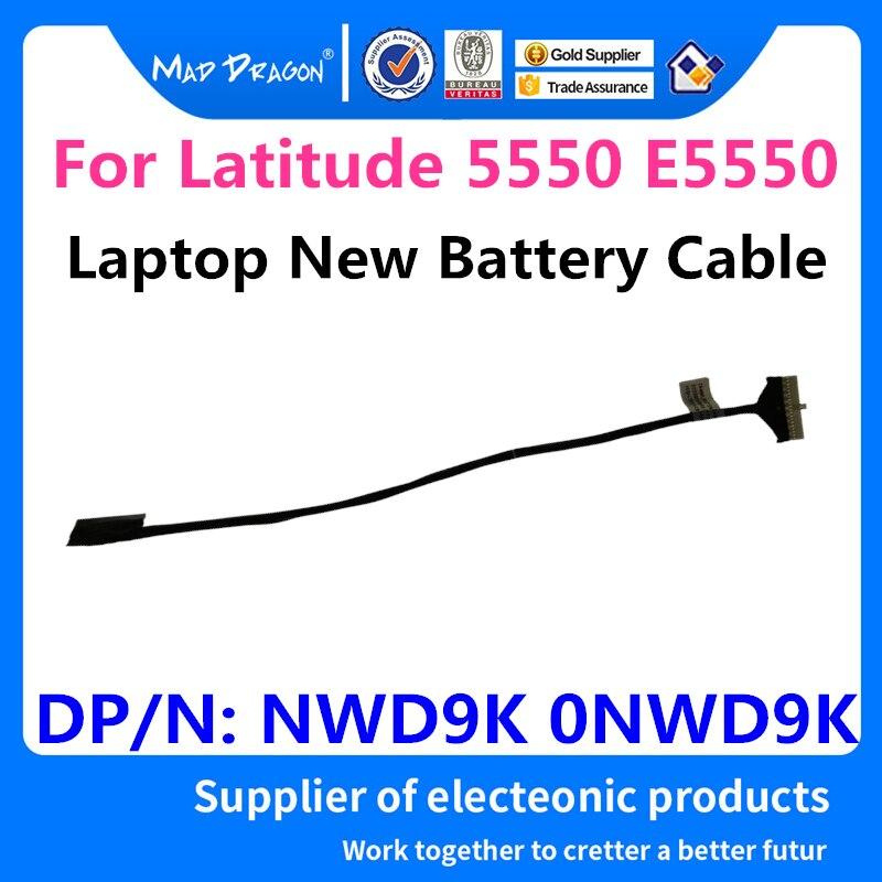 Новый оригинальный аккумуляторный кабель для ноутбука Dell Latitude 5550 E5550 ZAM80, линия аккумуляторов DC02001WW00 NWD9K 0NWD9K, бесплатная доставка