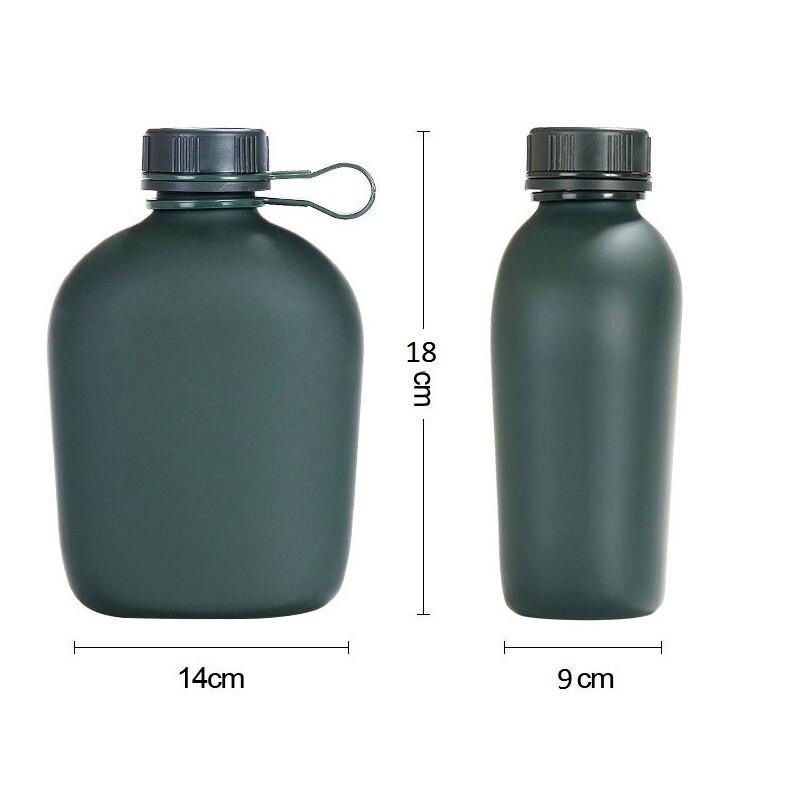 agua militar acampamento garrafa de agua com 02