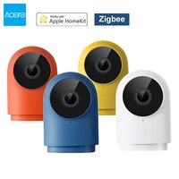 Aqara G2H Camera 1080P HD Smart Zigbee Gateway Hub 140° Wide Angle Home Security Video Webcam IR Night Vision For Apple Homekit