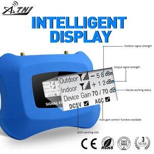 Image 4 - Hot! 4G LTE 800MHz mobilny wzmacniacz sygnału 4g telefon komórkowy wzmacniacz 4G komórkowy regenerator sygnału z antena Yagi + antena sufitowa zestaw