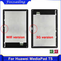 Original 10.1 inch Lcd For Huawei MediaPad T5 10 AGS2-L09 AGS2-W09 AGS2-L03 AGS2-W19 LCD Display Touch Screen Digitizer Assembly