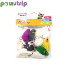 Pawstrip 12 дюймов искусственная игрушка для кошек из кроличьего