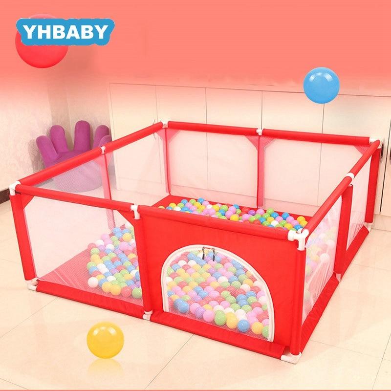 Baby Playpen Fence Safety Barrier For 0-6 Years Kids Children Playpen Newborns Game Playpen Tent For Infants