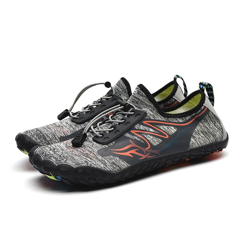 Aqua Shoes Upstream Climbing Shoes Quick Dry Seaside Breathable Water Shoes Shockproof Bending Resistance Hiking Shoes Men Women