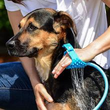 Pet Bathing Tool Comfortable Massager Shower Tool Cleaning Washing Bath Sprayers Dog Brush Pet Supplies Wholesale
