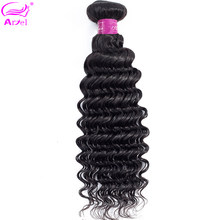 Deep Wave Bundles Brazilian Hair Weave Bundles 40 32 30 Inch Bundles Natural Color Human Hair Bundles Remy Hair Extension Ariel(China)
