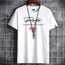 Harajuku-Camiseta holgada con gráfico Punk para hombre, camiseta de Manga corta Vintage Hip Hop para parejas, ropa a juego de Anime para hombre 2021