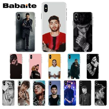 Zayn Malik One Direction TPU Soft Silicone Phone Case For iPhone X XS MAX 6 6s 7 7plus 8 8Plus 5 5S SE XR 11 11pro max Cover image