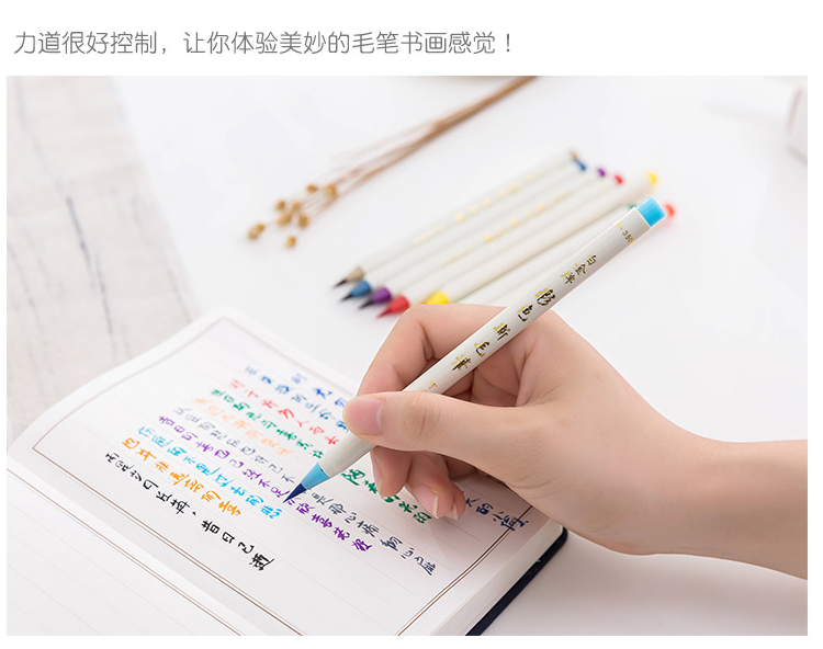 PLATINA Recarregáveis escova colorido caneta cores set CF 350CC 20