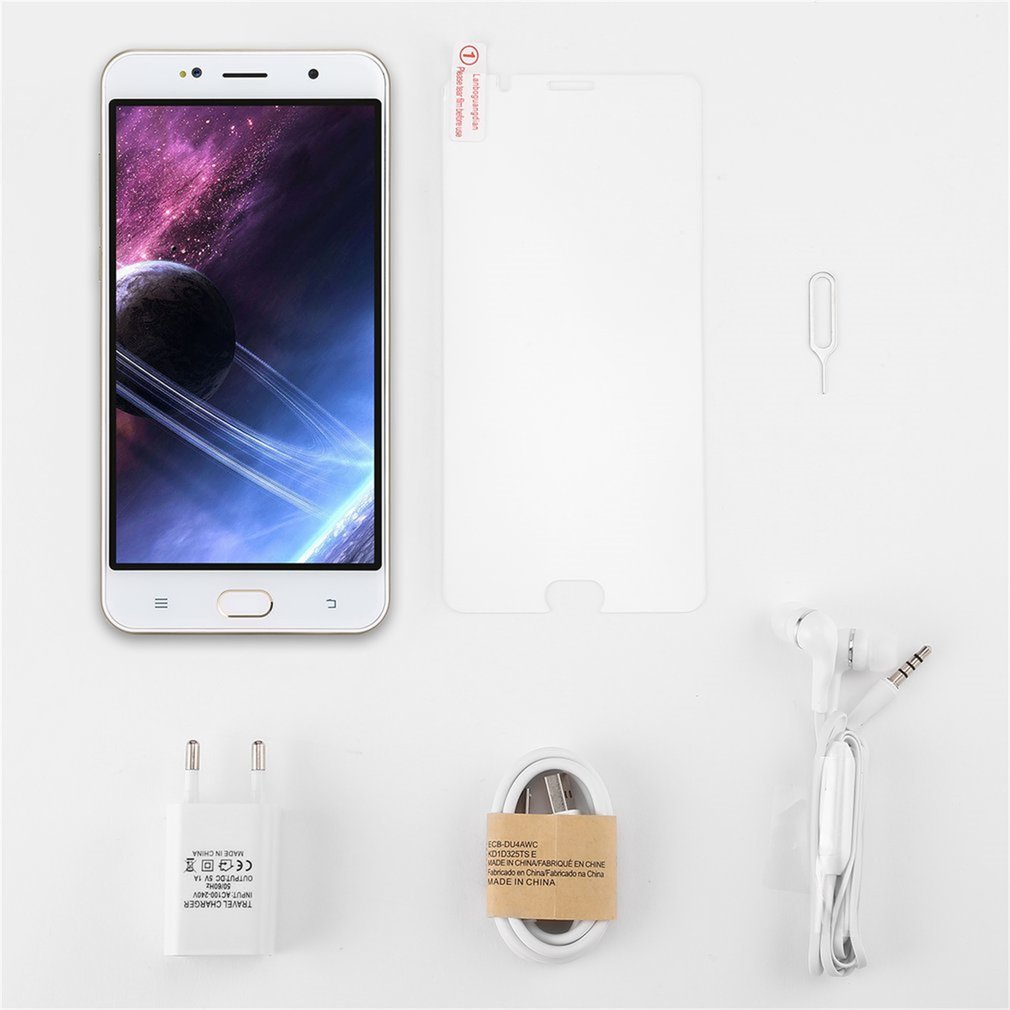 6 inch Smartphone 1GB RAM + 8GB ROM 2800mAh MTK6580A Quad core 1.3GHz Processor Dual SIM for Android 6.0 Mobile Phone|Phone Adapters & Converters| |  - title=