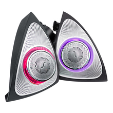 original 64 colors rotating tweeter led light for w205 glc ambient lights mercedes benz car side door treble speaker