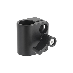 """Image 3 - Kayulin Solid Single 15mm Rod Clamp Adapter With 1/4"""" 20 Mounting Screws"""