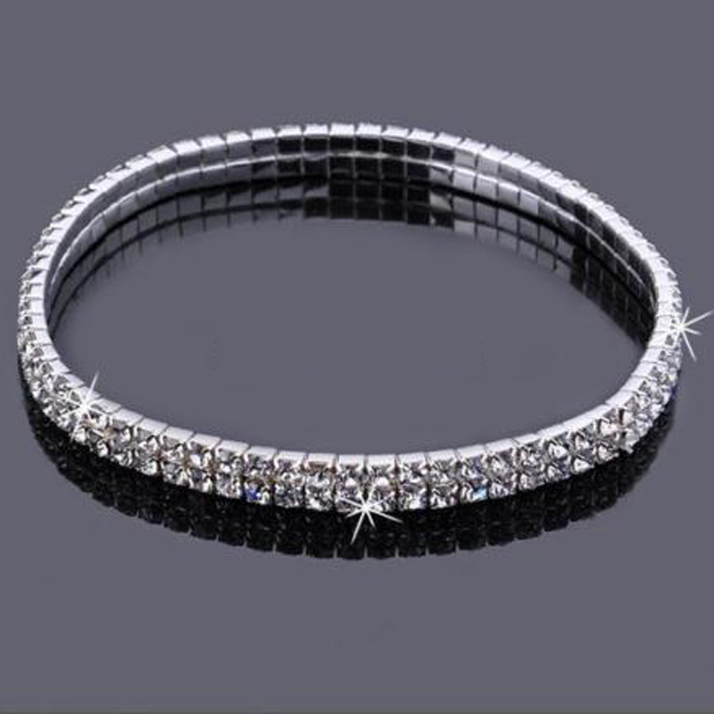 2017 Real Womens Look Stunning Diamante Rhinestone Anklet Ankle Chain For Proms Parties Or Weddings For The Bride Bridesmaid 3