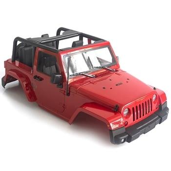 RC Car 280mm Wheelbase Convertible Open Car Body Shell for 1/10 Crawler Axial SCX10 RR10 WRAITH RC4WD D90 D110 CC01